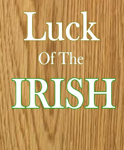 Luck of the Irish saw pattern