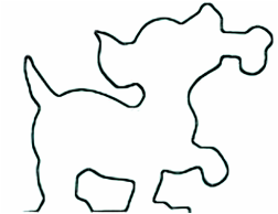dog & bone saw pattern