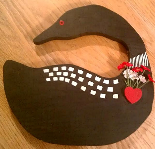 Loon craft pattern