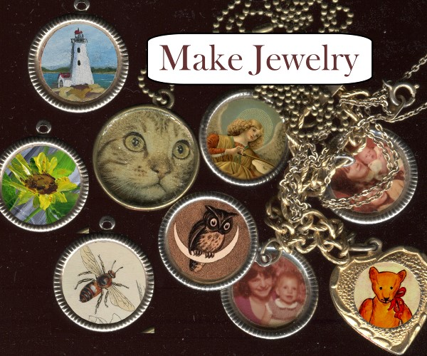 How to Make photo jewelry
