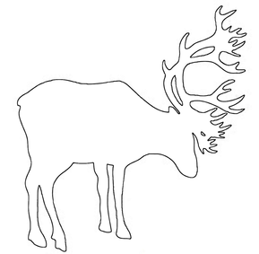 Deer craft pattern