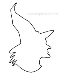 witch head craft pattern