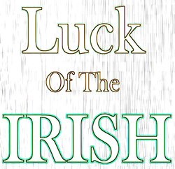 pattern for Luck of the Irish