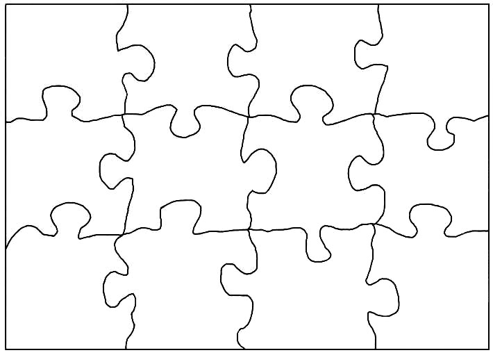 Puzzle Templates - Free saw patterns