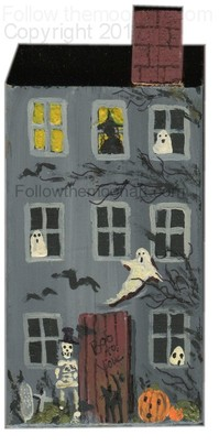 Haunted house craft project