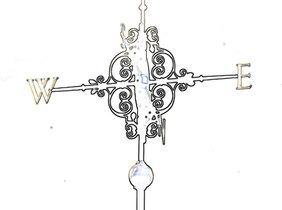 weather vane saw pattern